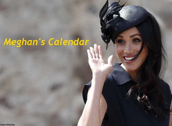 The Royals Harry And Meghan December 2020 Calendar Mad About Meghan: Meghan's Calendar