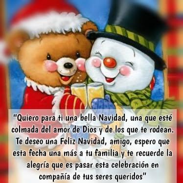 Imagenes Con Frases De Navidad Para Mis Amigos