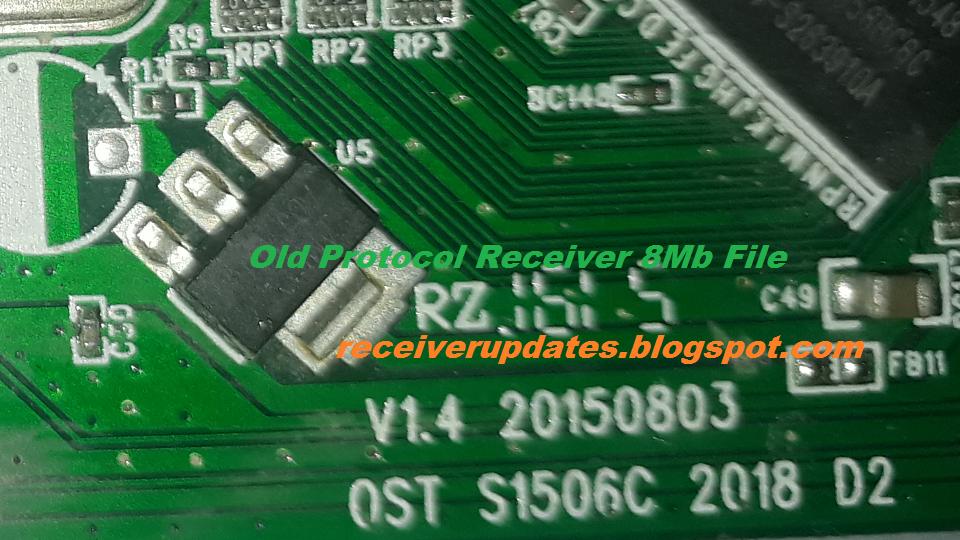 Dump Neosat i5000 AC/DC Old Protocol Receiver 1506C 8mb Software
