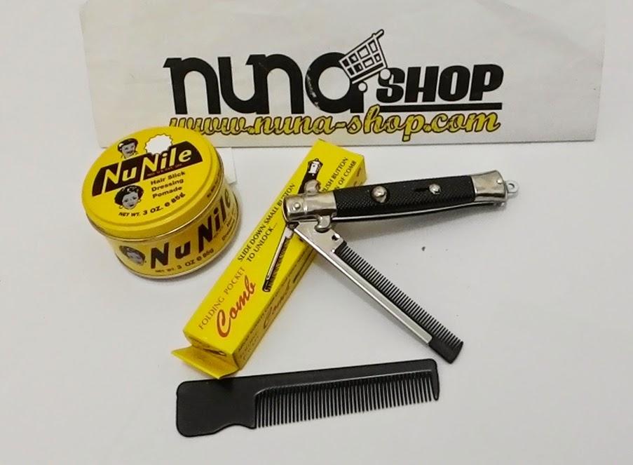 Paket Hemat Pomade Murray's Nu Nile + Switchblade Comb