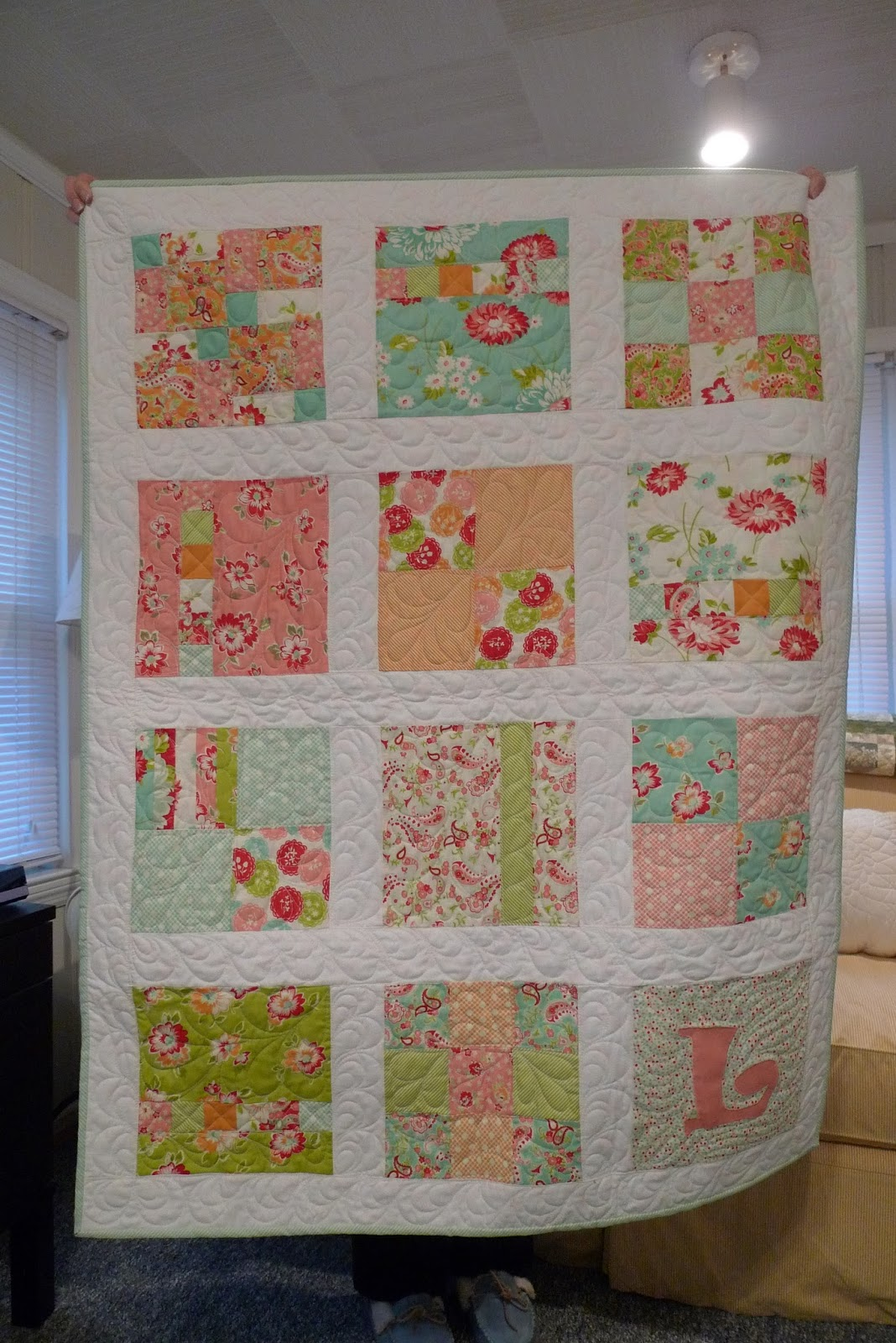 sew some sunshine: two baby quilts
