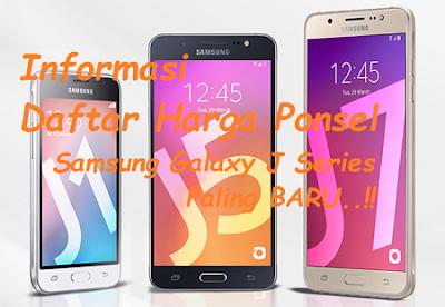 Daftar Harga Samsung Galaxy J Series