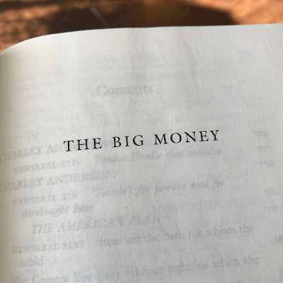 The Big Money by John Dos Passos   Two Hectobooks