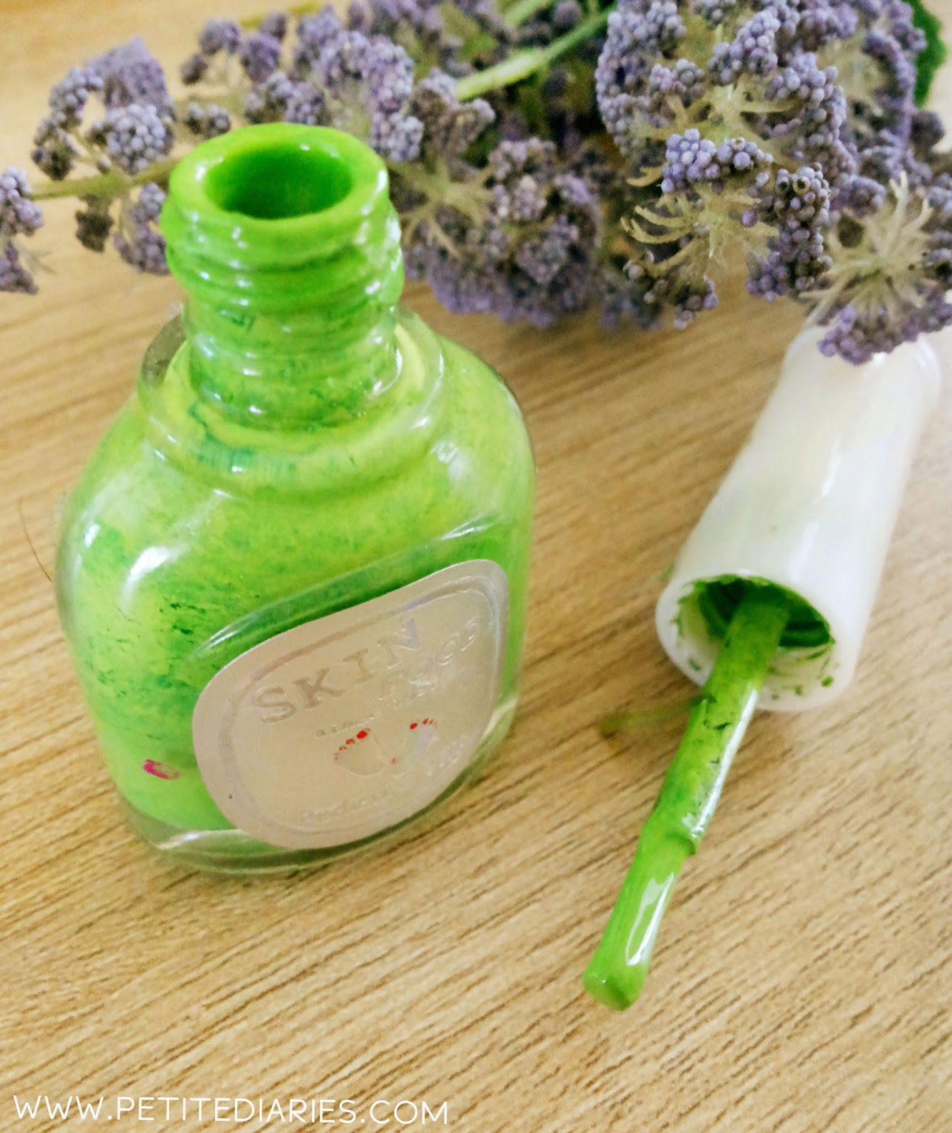 skinfood green nail