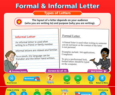 Formal And Informal Letters Examples - English Preparations