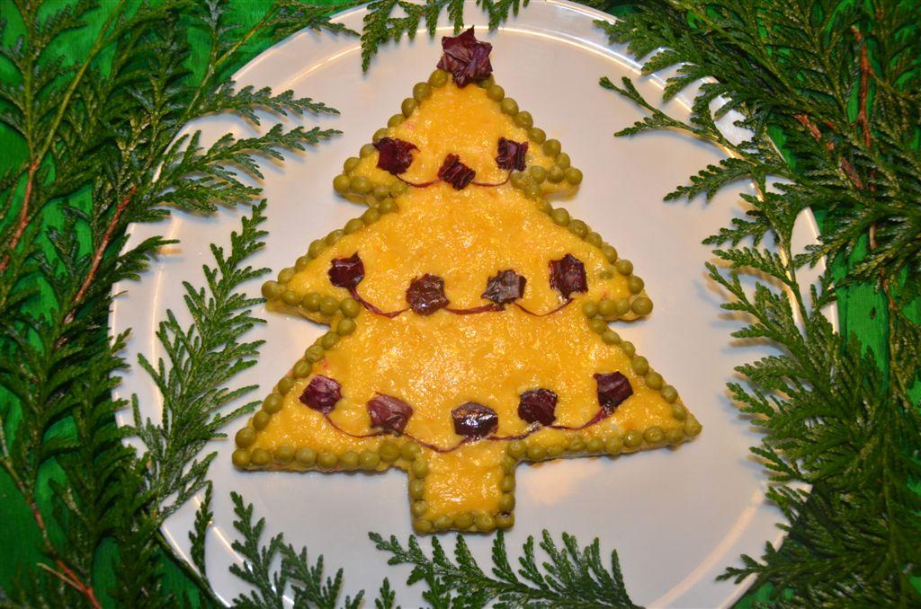Decorazioni Natalizie Per Insalata Russa.Sisters Petre Ideas Albero Di Natale Di Insalata Russa