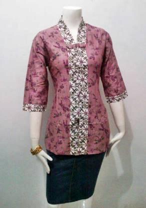 Kebaya Wisuda Modern Lengan Pendek 30+ Model Baju B...