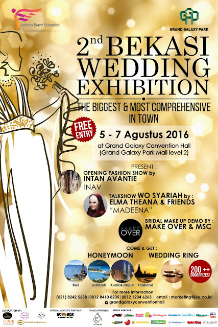"""2nd Bekasi Wedding Exhibition, """"The Biggest & Most Comprehensive in Town"""""""