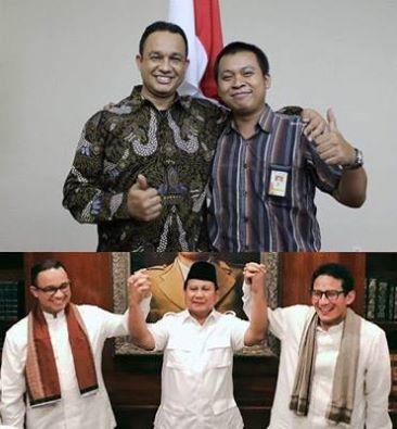 Pilih Anies Baswedan, Terbuat dari Apakah Hati Prabowo?