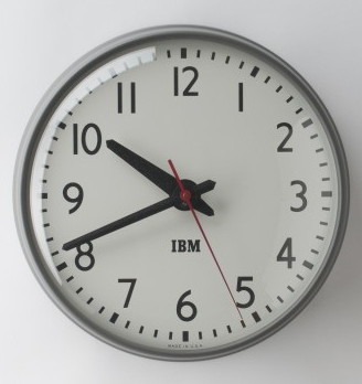 IBM wall clock