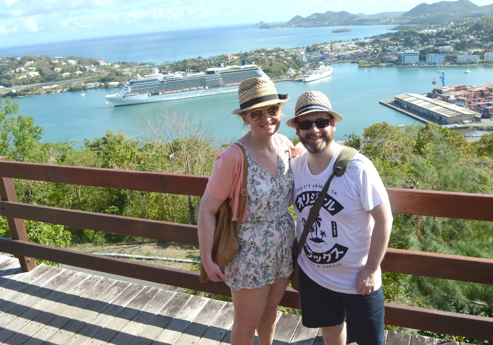 The Honeymoon Diaries: Caribbean Cruise - St Lucia