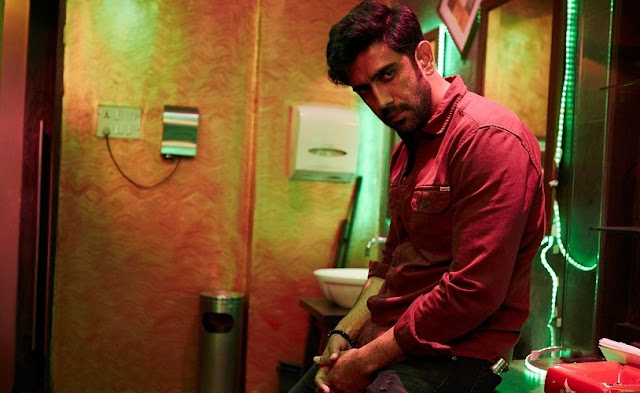 Amazon Original 'Breathe' Amit Sadh, gun in his hand
