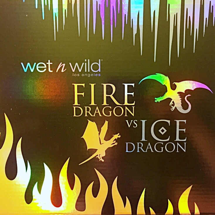wet n wild limited edition Fire and Ice collection box