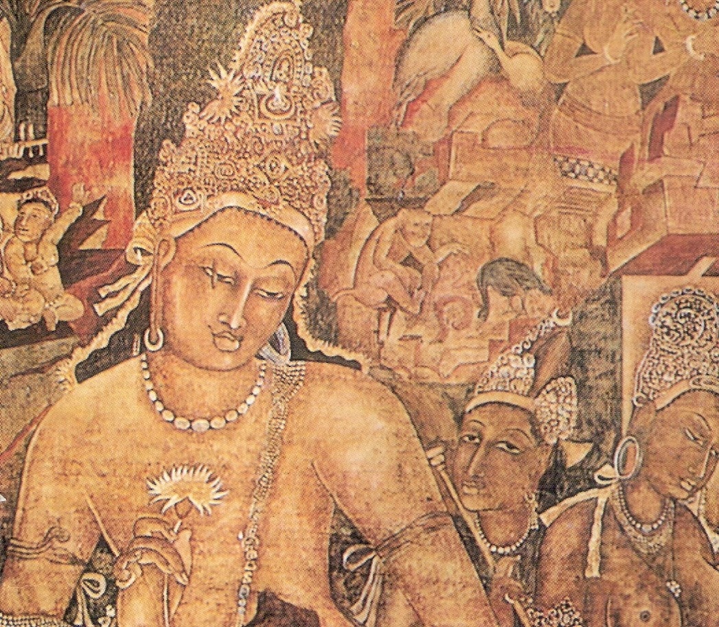 Tamsin haggis the feeling of life for Ajanta mural painting