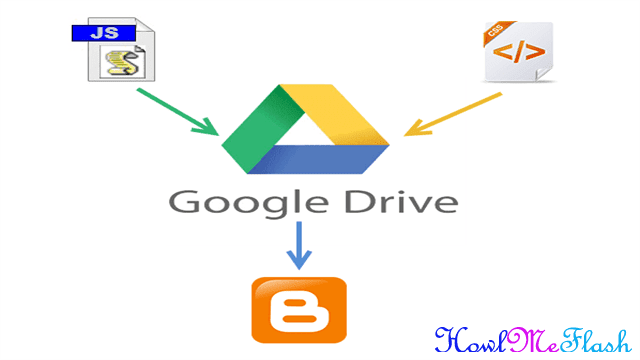 How to Host Blogger CSS and JavaScript Files in Google Drive