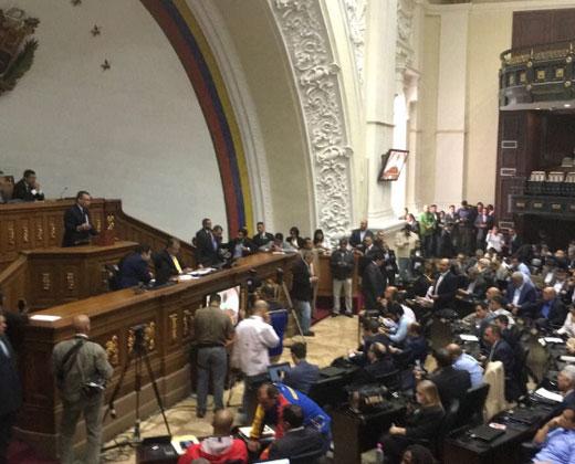 AN aprobó proyecto de acuerdo para la restitución de la Constitución Nacional