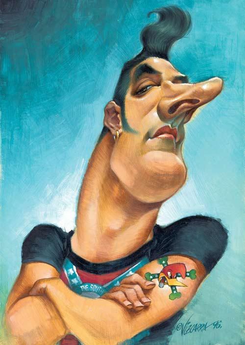 "Jose Mª Sanz ""Loquillo"" por Joan Vizcarra"
