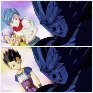 Vegeta is not leaving anything aside