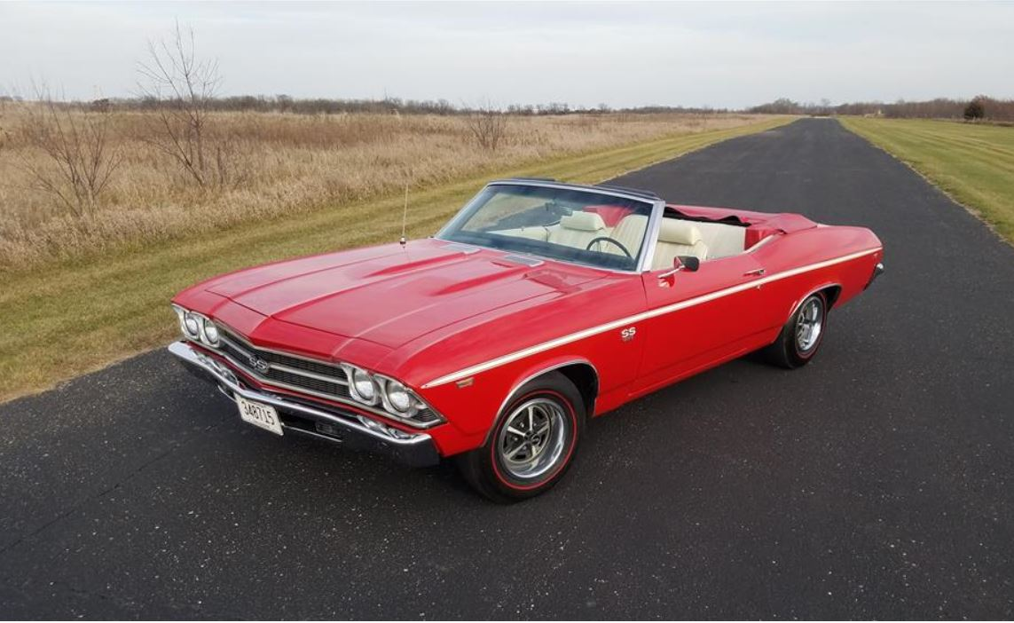 On The Block: 1969 Chevelle SS396 convertible Update with