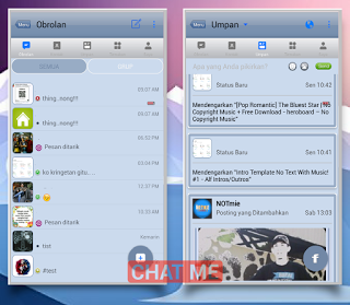 Download BBM Mod CHAT ME - Theme IyoS2an Apk For Android