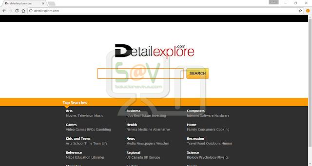 DetailExplore.com (Hijacker)