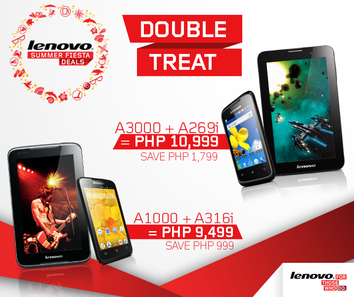 Lenovo Double Treat Promo
