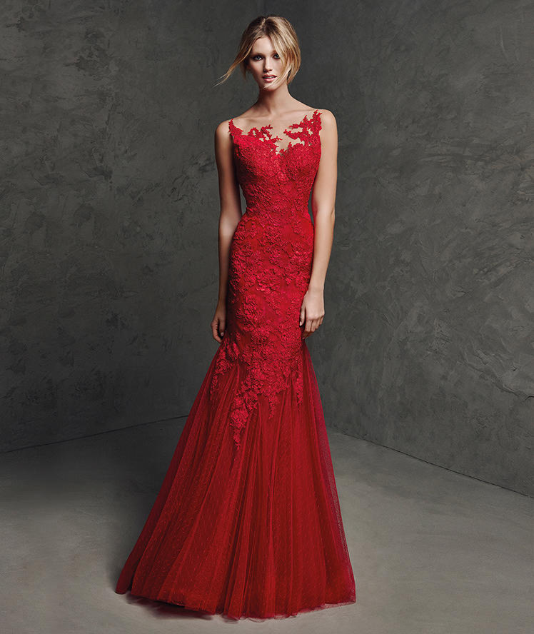 d1bfced417 10 vestidos de fiesta Pronovias espectaculares