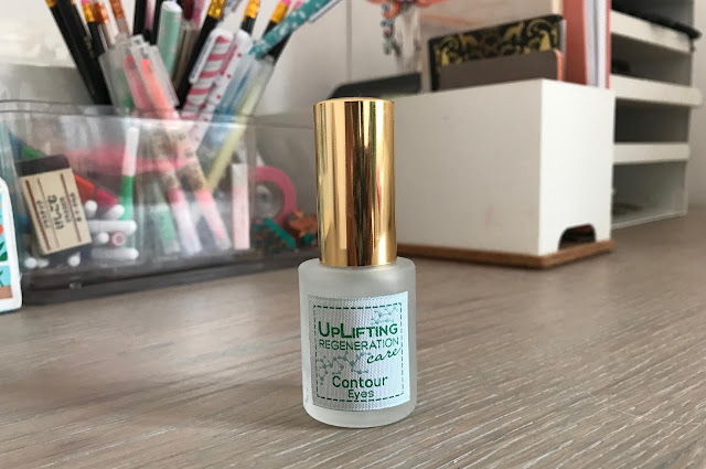 First Impressions:  Uplifting Regeneration Care Contour Eyes
