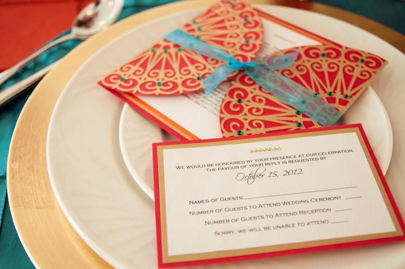 Modern Indian Wedding Invitations Uk: Stunning Modern Henna Inspired Styled Shoot.