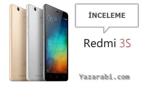 Xiaomi Redmi 3S İnceleme