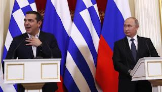 Ο Πόυτιν δεν γέλασε με το αστείο του Τσίπρα για την γραβάτα