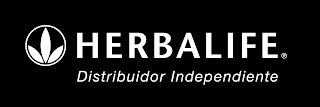 Logo White horizontal Herbalife Distribuidor Independiente