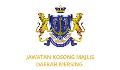 Jawatan Kosong Majlis Daerah Mersing 2019
