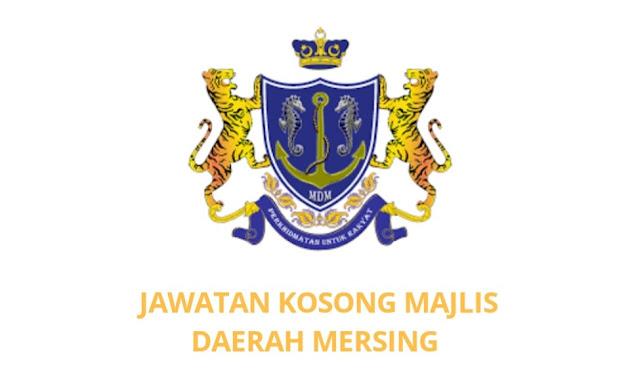 Jawatan Kosong Majlis Daerah Mersing 2021