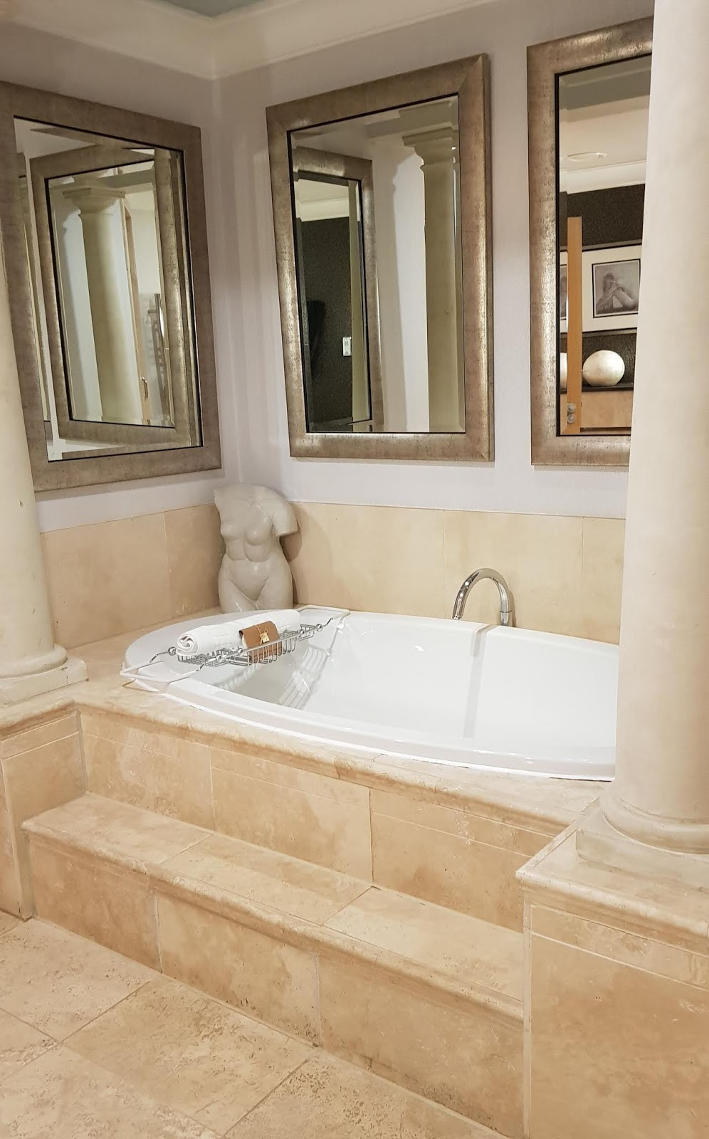 The luxurious bath we never got to use