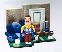 Toy fair 2018 McFarlane Hello Neighbor Construction Sets