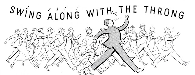 Swing along with the throng illustration, 1930s?