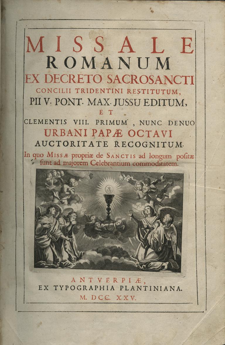 Asociación Litúrgica Magnificat: Los libros litúrgicos (I