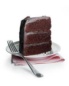 chocolate homemade birthday cake