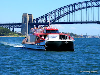 Captain Cook Cruises Hop On Hop Off ferry