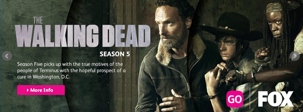 The Walking Dead Season 5 now on Astro broadcast on the same day as the U.S.