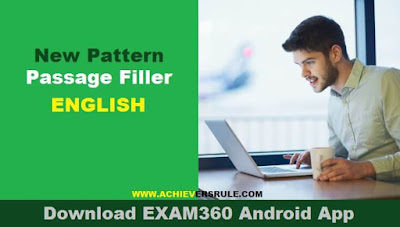 English Quiz: New Pattern Cloze Test