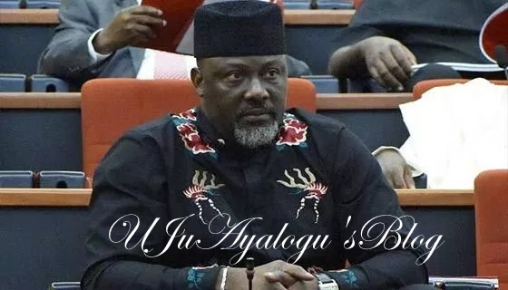 Dino Melaye: Kogi youths ambush convoy, call Senator thief [VIDEO]