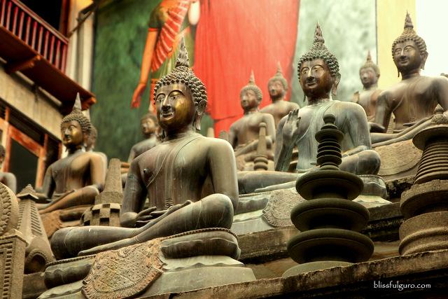 Colombo Sri Lanka Gangaramaya Temple