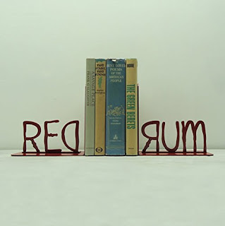 Redrum Bookends, The Shining, Stephen King Home Accessories, Stephen King Store