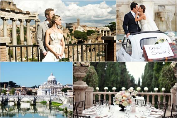 Ślub w Rzymie, Ślub we Włoszech, Ślub za Granicą