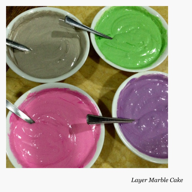 Cakes N Cakes: Kek Kukus Lapis Marble