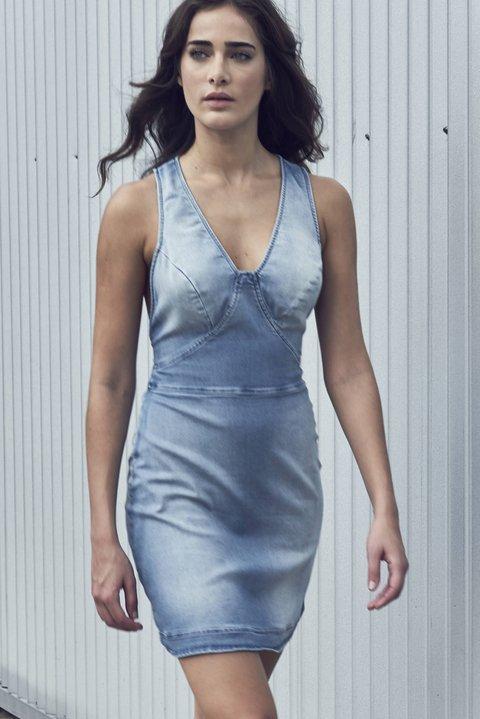 Moda Vestido (c) sm Indigo 8.3oz