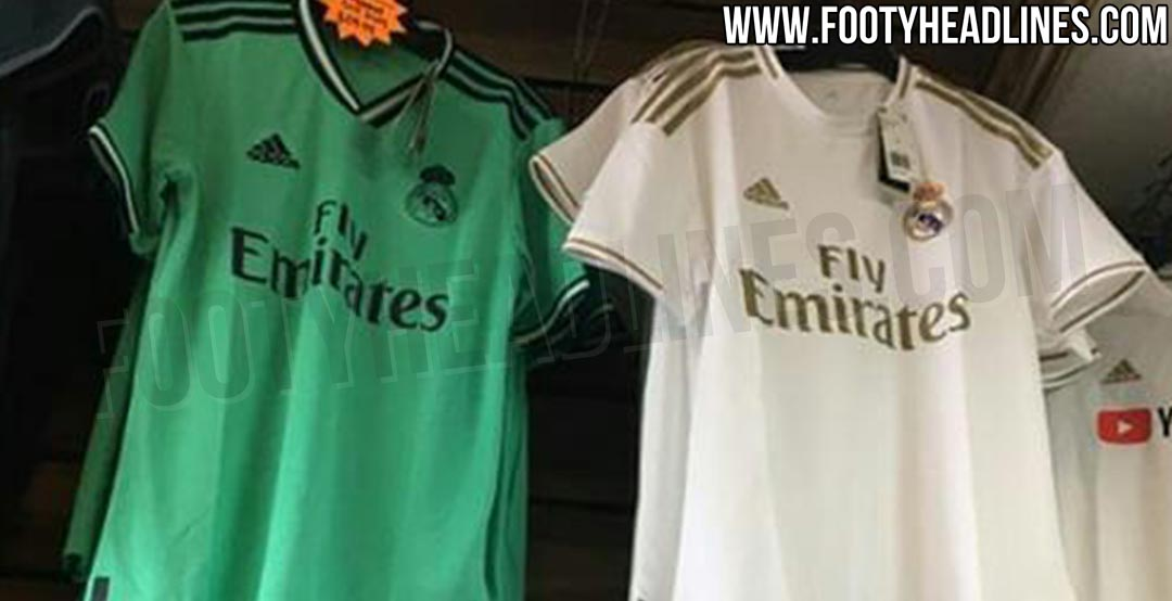 huge selection of 6553d bb958 Real Madrid 19-20 Home, Away & Third Kits Leaked - Release ...