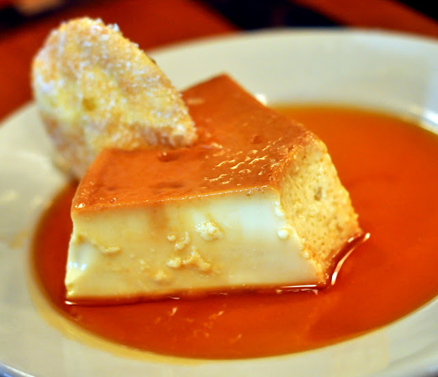 Brazilian Caramel Flan at Rodizio Grill in Allentown, PA - Photo by Taste As You Go